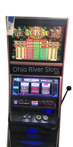 Double 3x4x5x Dollars slot machine