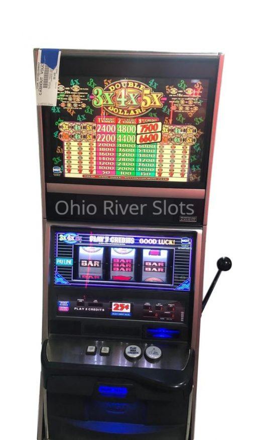 Double 3x4x5x Dollars slot machine