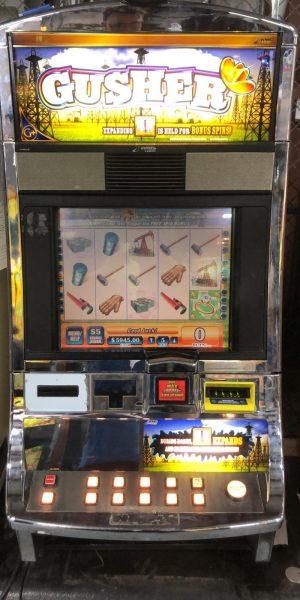 Gusher slot machine