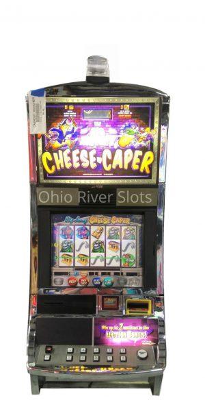 Big Money Cheese Caper slot machine