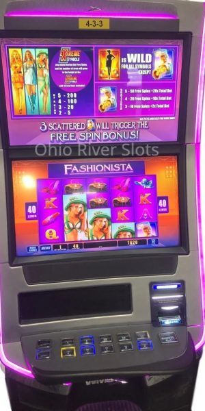 Fashionista slot machine