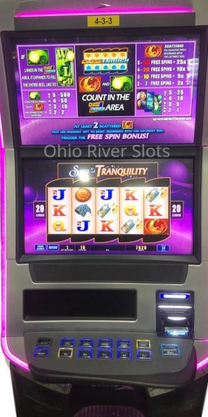 Sea of Tranquility slot machine