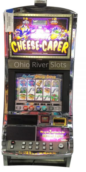 Great Cheese Caper slot machine