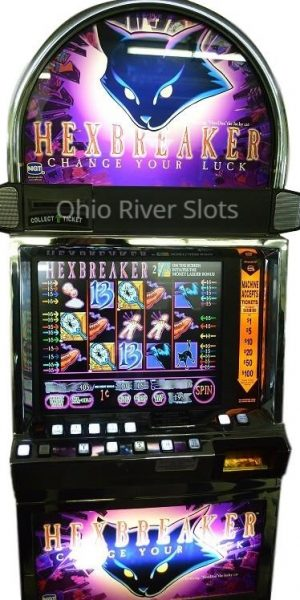 Hexbreaker slot machine