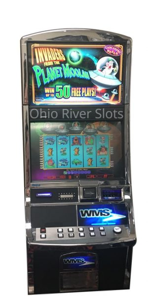 Invaders from Planet Moolah slot machine