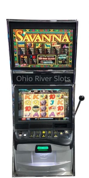 Savanna slot machine