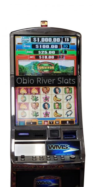 Survivor slot machine