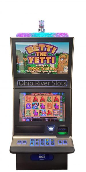 Betti The Yetti slot machine