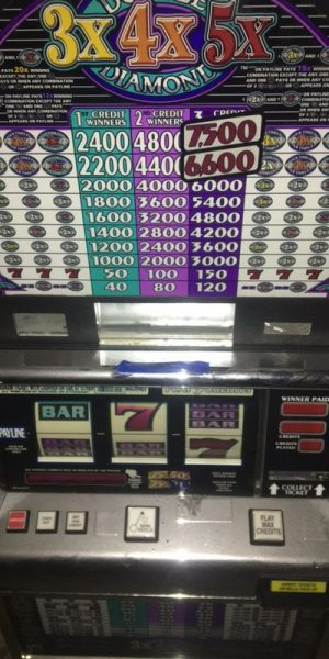 Double Diamond 3X4X5X Pay